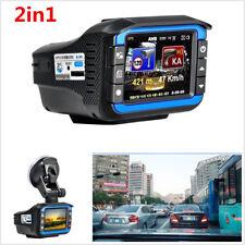 2inch HD Car DVR Camera Video Recorder Radar Laser Speed Track Detector Dash Cam