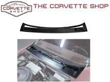 C3 Corvette Wiper Compartment Cover Black ABS Plastic NEW 1973-1982 X2558