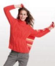 Schachenmayr Extra Merino Knitting Pattern Sweater S8325 Leaflet #14D158