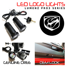 Lumenz 100960 White LED Logo Lights Ghost Shadow for Viper 2013+ Stryker