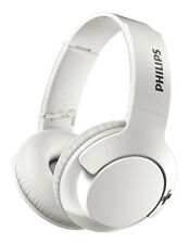 Philips SHB3075 Bass+ Wireless On-Ear Headphones - White