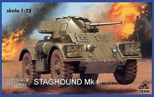 Automóvil blindado Staghound Mk I (British & italiano MKGS) de 1/72 RPM panzer