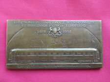 COMPAGNIE INTERNATIONALE WAGONS-LITS & GRANDS EXPRESS EUROPEENS~1876-1926~DROPSY