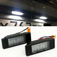 2PCS Canbus LED License Plate lights for Benz W639 Vito Viano W906 Sprinter