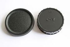 YASHICA  CONTAX  Y/C Objektiv Rückdeckel & Gehäuse Deckel,Kappe,Lens & Body Cap