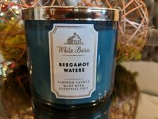 Bath & Body Works BERGAMOT WATERS 3-Wick Candles scented candle 14.5 oz