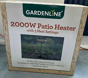 Gardenline 2000W Free Standing Electric Patio Heater ✅ FAST FREE DELIVERY ✅ BNIB