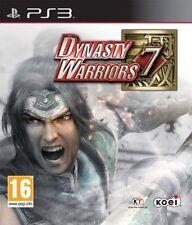 Playstation 3 PS3 Spiel Dynasty Warriors VII 7 ---- 3D fähig Neu