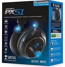 Turtle Beach Ear Force PX 51 BlackHeadband Headsets Multi-Platforms *New,Sealed*