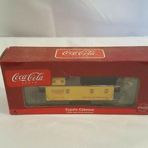 HO scale Athearn Coke Coca-Cola cupola caboose car train #8360. New