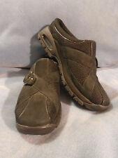 Women's Cole Haan Black Leather & Textile Slides Mules Size 7 1/2 B