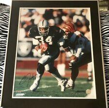 Bo Jackson autographed signed autograph LA Raiders 16x20 photo matted framed UDA
