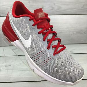 Nike Air Max Typha Flywire Training Shoes 820198-011 Gray And Red Size 8.5