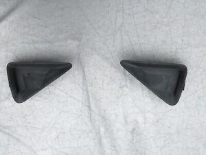 2006-2010 HONDA CIVIC MK8 FRONT FOG LIGHT TRIM COVERS DRIVER/ PASSENGER PAIR