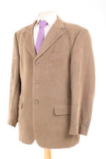 M&S ITALIAN BEIGE CORDUROY MEN'S SPORTS JACKET 40R DRY-CLEANED