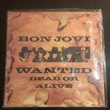 "BON JOVI - Wanted Dead Or Alive - 1986 vinyl 12 ""SEALED UK Vertigo"