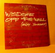 Cardsleeve single CD Wisdome Off The Wall (Enjoy Your Self) 2 TR 1999 House