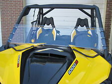 "CAN-AM MAVERICK SCRATCH RESISTANT 13"" TALL HALF WINDSHIELD"