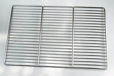 2-teiliger Edelstahl Grillrost 60 x 44,5 cm für Weber E 310 320 SPIRIT Grill