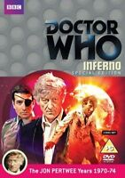 Doctor Who: Inferno - Special Edition 2 disc edition [DVD] Jon Pertwee as Dr Who