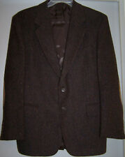 CC Courtenay Brown Wool Blazer Size 33