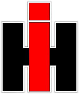 Case IH Tractor International Harvester Logo Vinyl Sticker Decal Bumper Window