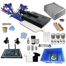 3 Color Sceen Printing Kit Adjust 1 Station 1 Dryer Press Printer & Press Tools