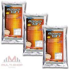 GAINER 737, 3x500g Whey 30% Protein Complex Mass Gainer Glutamin Muskelaufbau