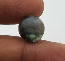 Natural Emerald Unheated/Untreated Round Loose Cabochon 12.50 Mm 5.80 Ct
