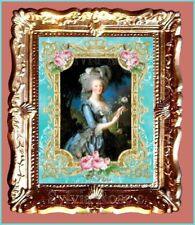 Marie Antoinette Maison de Poupées Miniature Photo par Sylvia ROSE Nº 002