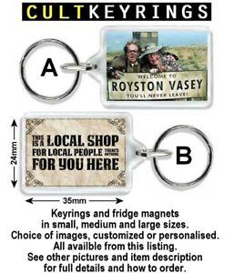 League of Gentlemen keyring / fridge magnet  - Royston Vasey, You're my wife now