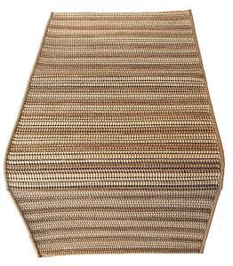 MISSONIHOME RUG CARPET JUTE WOOL COTTON CARIOCA T518 NATURA  55x120cm 2x4'
