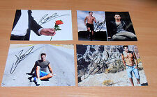 Sebastian Pannek *Der Bachelor 2017*, 4 original signierte Fotos in 10x15 cm