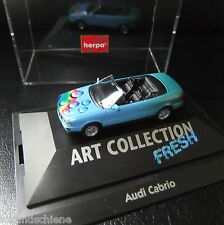 AUDI CABRIO tipo Collection FRESH Herpa HO 1:87 #1278