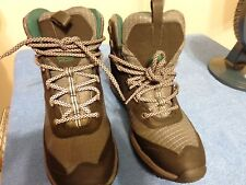 ROCKPORT XCS HYDRO SHIELD WATERPROOF SNOW BOOTS WOMEN 7.5 BROWN/PINK
