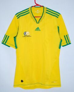 SOUTH AFRICA NATIONAL TEAM 2010 2011 HOME FOOTBALL SHIRT SOCCER JERSEY SIZE S