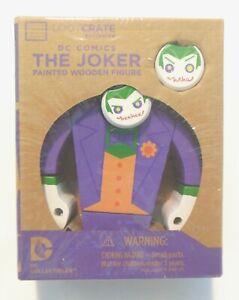 DC Comics The Joker Painted Wooden Figure Collectible Figure 10cm