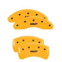 MGP 4 CALIPER COVERS Yellow for 2014-2019 Mercedes-Benz CLA250 23202SMGPYL