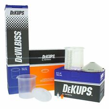Devilbiss Dekups 34 Oz Cups Lids Amp Liners Starter Kit