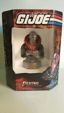 "Gi Joe Destro 6"" Mini Resin Bust Palisades Toys #281 of 3000"