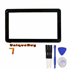 "10.1""Black Touch Screen for GoClever TAB R104 Digitizer Replacement Sensor Panel"