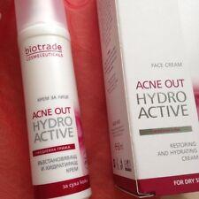 Biotrade Acne OUT Hydro Active Crema 60 ml panthenl macchie brufoli pelle secca