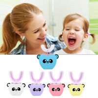 Kinder U Form Ultraschall Zahnbürste 3 Modi USB Cartoon Electric Zähne Reiniger