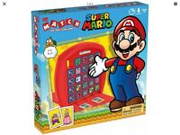 Super Mario Brothers Top Trumps Match Board Game New Sealed