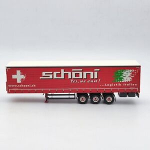 Tekno 1:50 SCANIA S-Serie Highlinet Kuehlauflieger Schoni 73907 trailer Only
