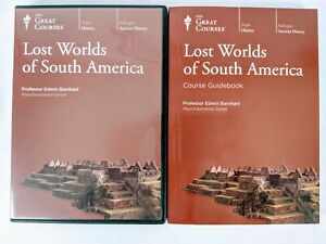 Lost Worlds of South America DVD Set /w Guidebook Great Courses/Teaching Company