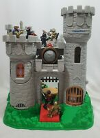 Vintage 1994 Fisher Price Great Adventures Medieval Castle Playset Knights 7110