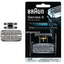 Braun 51S Replacement Foil & Cutter - 360 , Series 5 and 8000 Series Activator