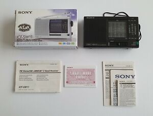 Sony ICF-SW10 FM SW MW LW 12 Band Receiver Shortwave Radio