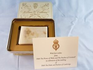 10th ANNIVERSARY  Wedding Cake Prince William & Kate Catherine Royalty Duke